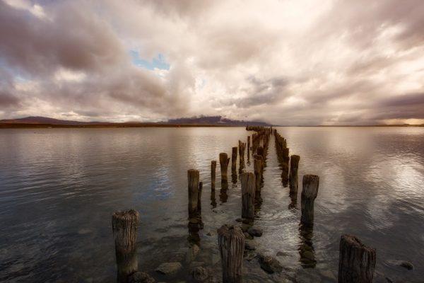 Дорога из Puerto Natales в Torres Del Paine