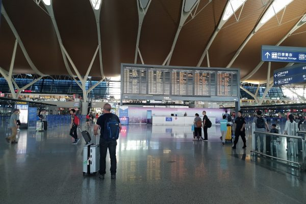 Перелёты-переезды — ТельАвив — Гонконг — Гуанчжоу — Яншо