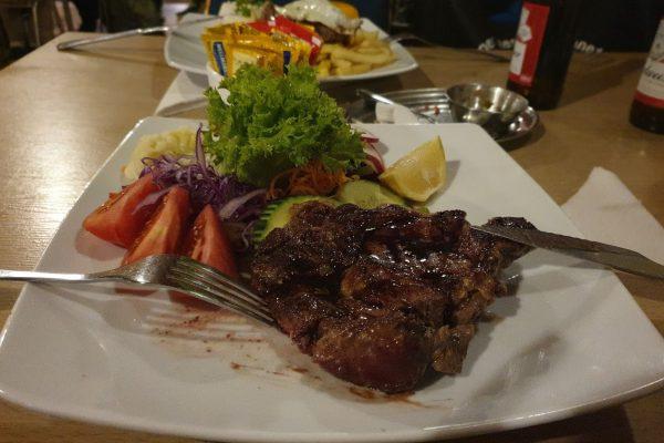 Ужин в La Picada Del Indio, Атакама