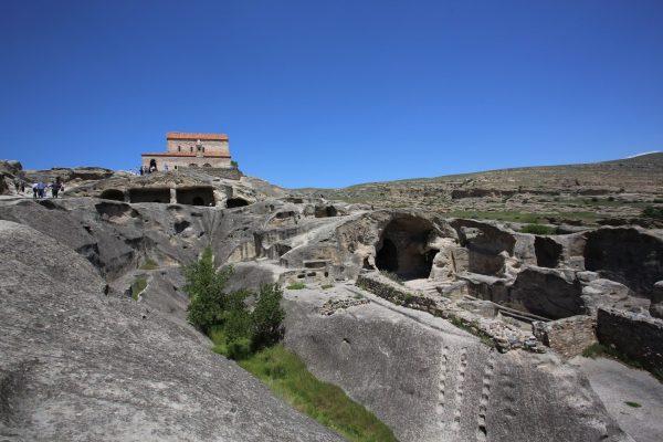 Уплисцихе — пещерный город, Грузия