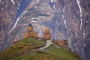 Монастырь Гергети, Грузия