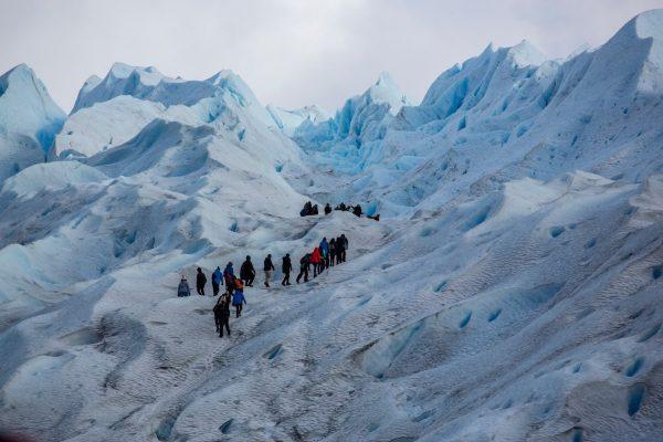 Mini trekking по леднику Perito Moreno