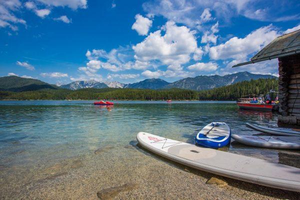 Озеро Aibsee