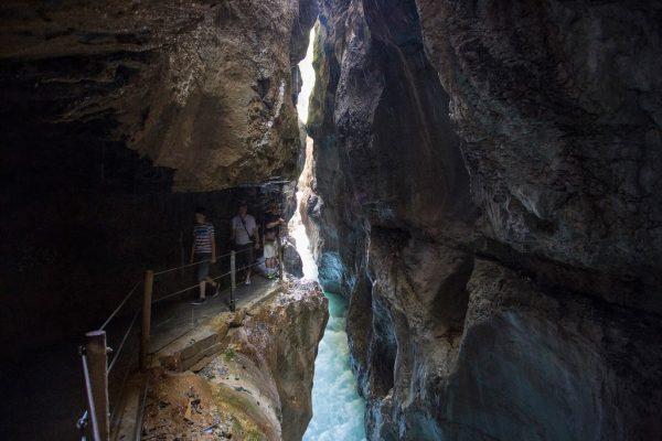 Ущелье Partnachklamm, на юге Германии
