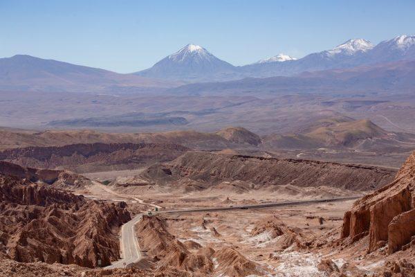 Пустыня Atacama, первые впечатления