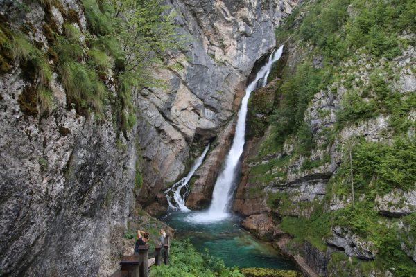 Водопад Savica, Словения