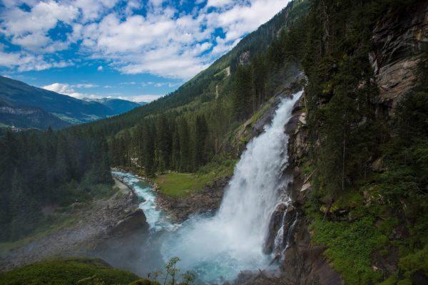 Водопады Krimmler