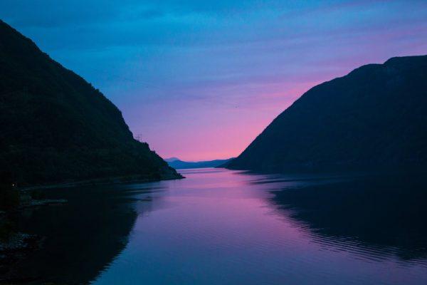 Ночевка в районе озера  Bondhusvatnet