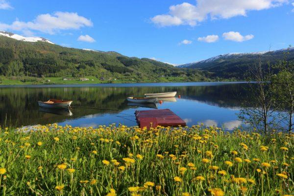 Потрясающие озёра Норвегии
