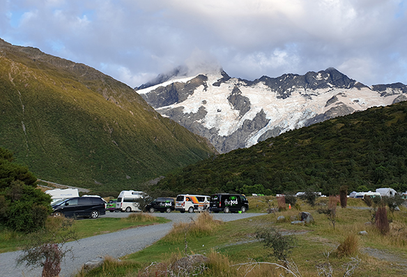 Правила кемпинга для автодомов в Новой Зеландии
